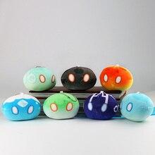 Muñecos de peluche Genshin Impact Slime Theme, juguetes de dibujos animados, Keli Dango, regalo de cumpleaños y Navidad
