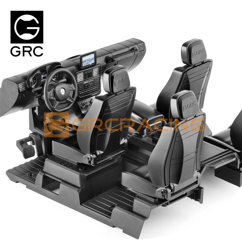 GRC TRX4 / 6 Mercedes-Benz Innen Kit G500 G63 6 × 6 Simulation Center Control Sitz Änderung G161G