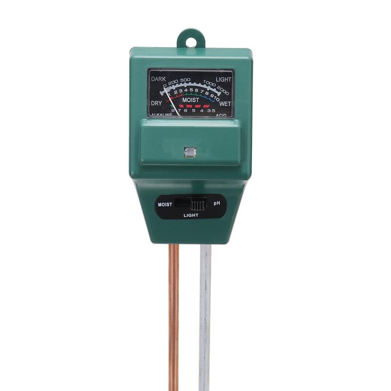 Soil Moisture Tester PH Meter Garden Tool Digital 3 In1 Sunlight Plant Flower PH Tester Soil Water Moisture PH Meter