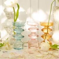 glass flower vase table decoration living room planter tabletop transparent terrarium containers handmade tabletop nordic vase