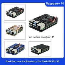 Raspberry Pi 3 boîtier aluminium argent vert noir boîtier métal boîtier RPI 3 boîte Compatible framboise Pi 3 modèle B