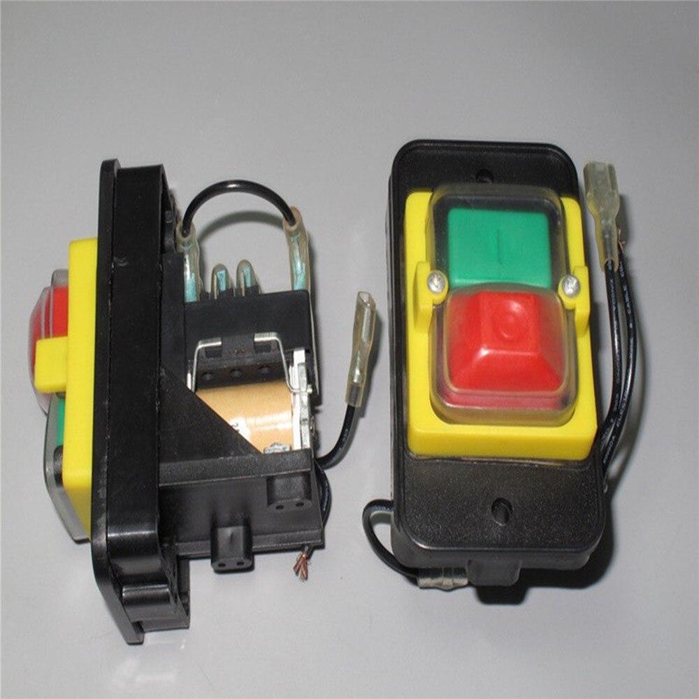 Interruptor Magnético trifásico 220V 16A de repuesto para JD2, interruptor de botón eléctrico de jardinería