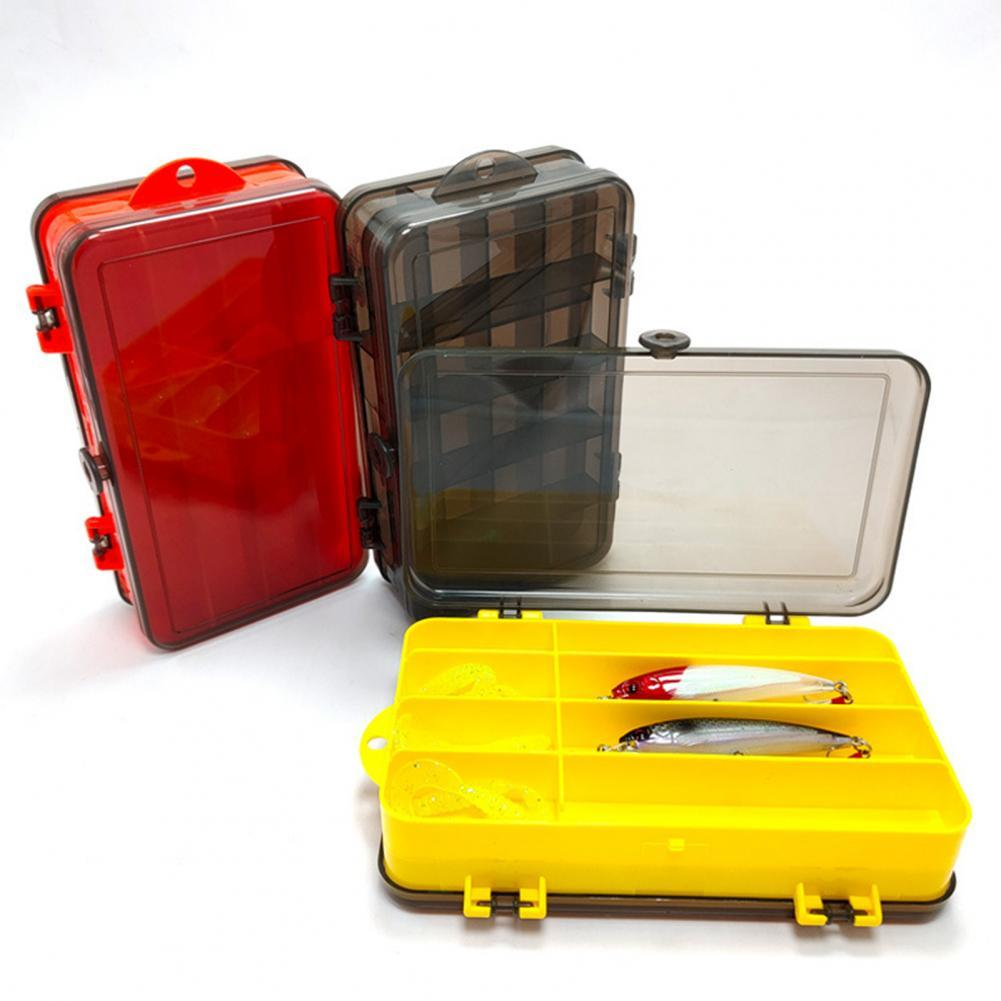 Fishing Lure Tray Double-Sided Waterproof Seal PP Sun Protection Tackle Storage Box for Fishing рыбалка Рыболовные аксессуары