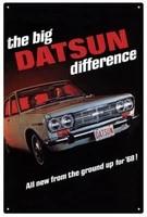datsun the big datsun difference car tin sign 20 x 30 cm