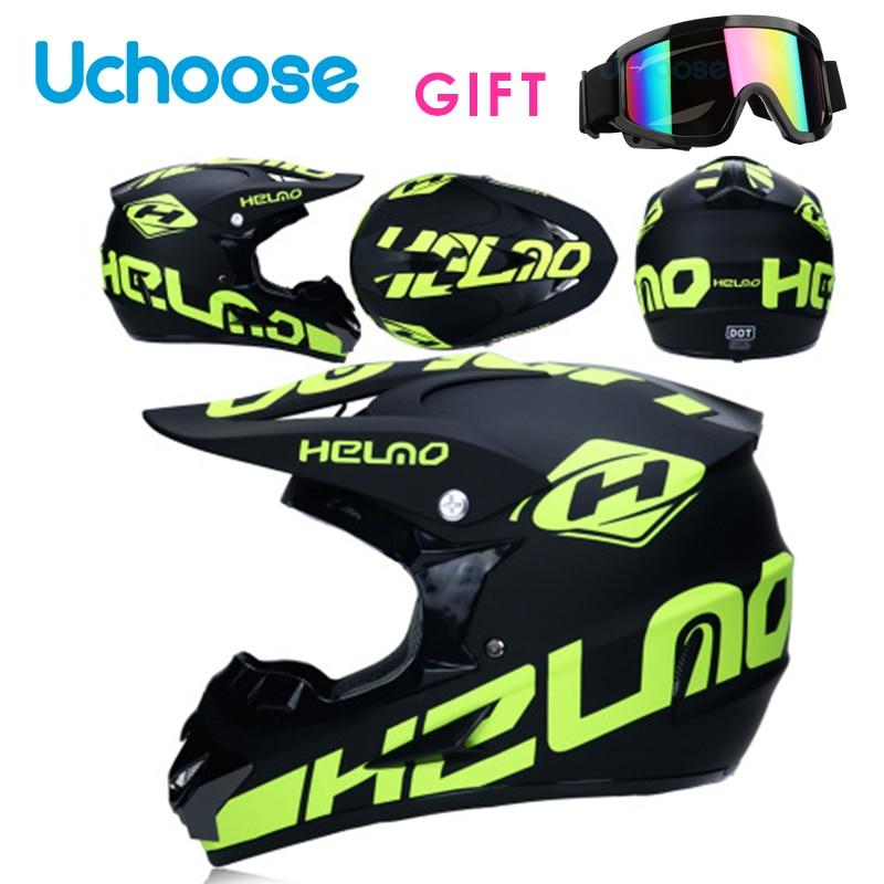 Professional Motorcycle Helmets Moto Racing Motocross Off-roadcartoon Adult  Motobike Helmet Casque Moto Capacete Moto Casco