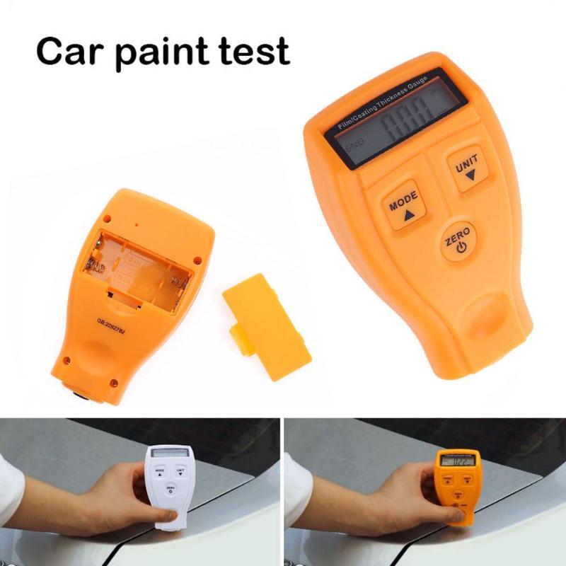 Mini GM200 medidor de espesor de pintura rm660 revestimiento de coche medidor de medición de espesor de pintura LCD herramienta de prueba Digital