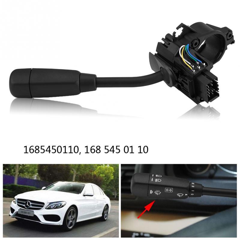 Interruptor de columna de limpiaparabrisas de señal de giro para Mercedes Benz Clase A (W168) LHD 1997 1998 1999 2000 2001 2002 2003 2004 1685450110