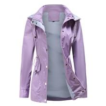 Windbreaker Jacket Women 2021 New Spring Autumn Clothes Fashion Zipper Pockets Trench Coat Female Ca