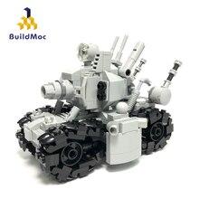 Construcdmoc nouvelle figurine en métal limace réservoir SUPER 24110 Super véhicule 001 assemblé modèle jouets gris figurine cadeau