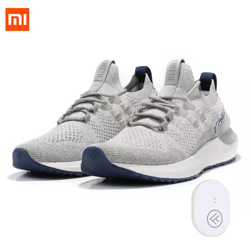 Get Orginal Xiaomi FREETIE Cloud Bomb Shock Absorption Sneakers 2ETPU Cloud Bomb Midsole TPU Heel With Smart Chip Running Sneaker