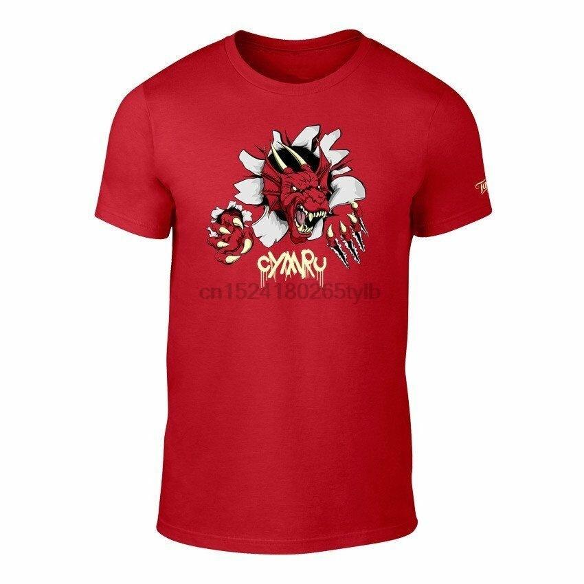 Galés dragón avance camiseta-Rugby fútbol adulto camiseta S-XXXL