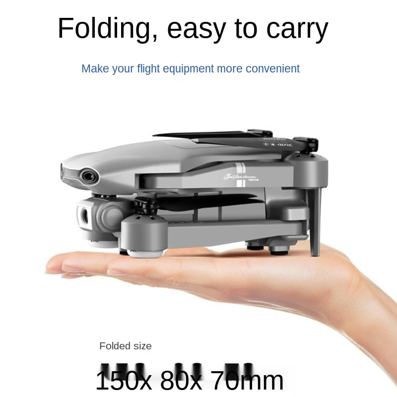 4K Folding GPS Drone Aerial Photography Dual Intelligent Positioning Return Home Quadcopter Remote Control Aircraft enlarge