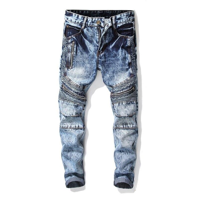 Новинка 2021, модные мужские джинсовые брюки длиной до щиколотки, облегающие брюки, брендовая одежда, уличная одежда, джинсы больших размеров ...