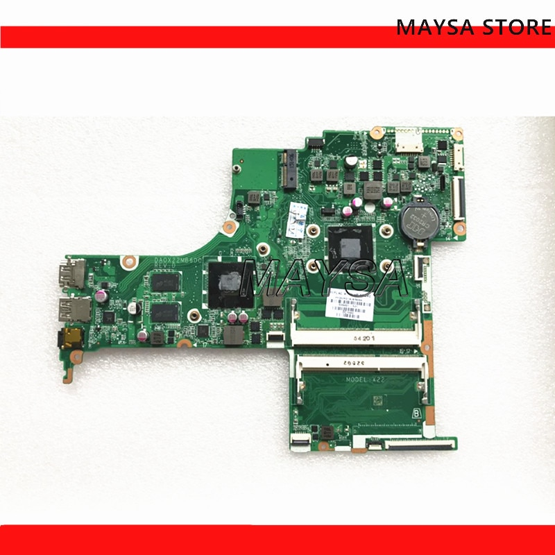 809401-601 FOR HP NOTEBOOK 17-G series laptop motherboard DA0X22MB6D0 REV:D 2GB A8-7410 809401-001 m