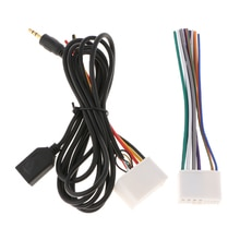 Conector de arnés de Cable de Audio para coche para KIA K2 K5 Hyundai de fácil instalación 155x29mm