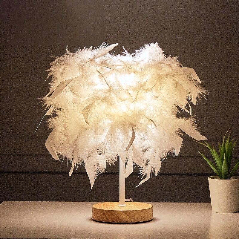 controle remoto lampada de mesa pena usb 1600 mah energia diy criativo luz quente