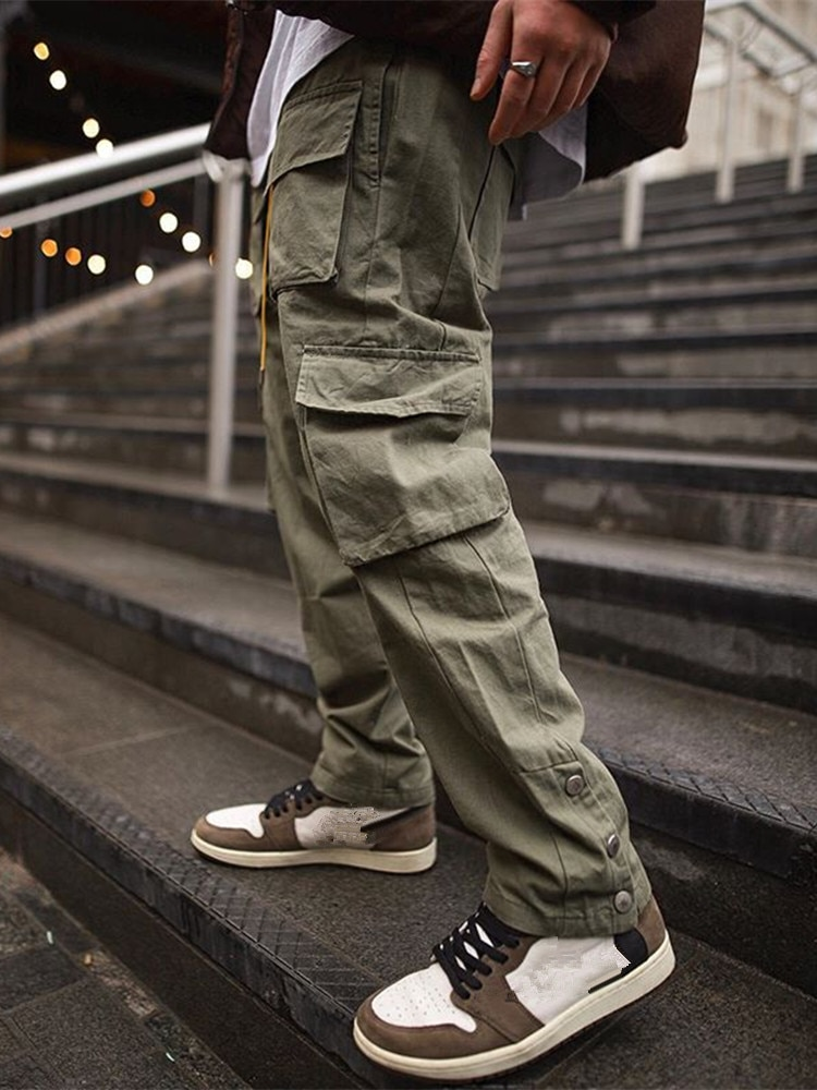Cargo Pants Men 2021 Hip Hop Streetwear Jogger Pant FashionTrousers Gyms Fitness Casual Joggers Sweatpants Men Pants