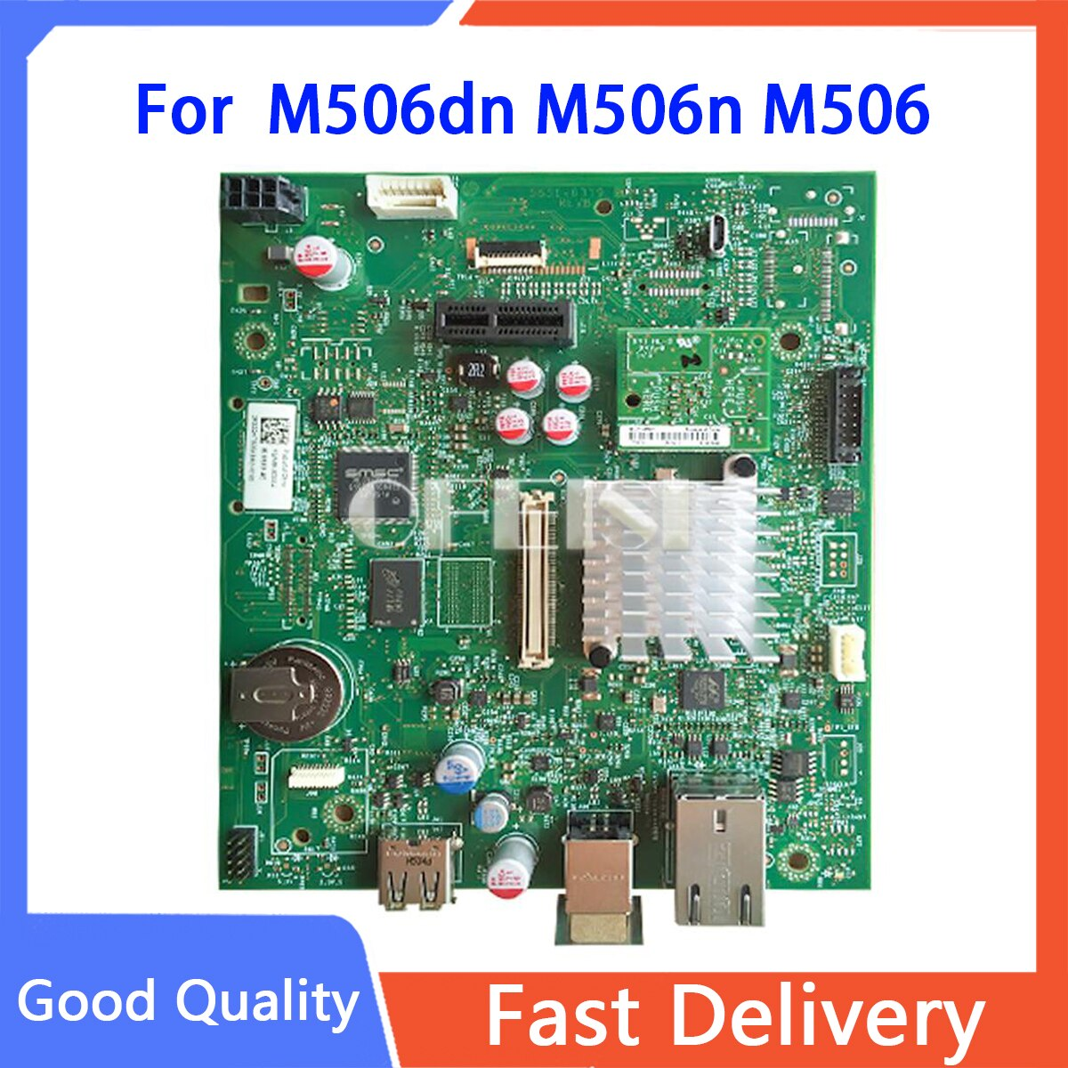 الأصلي F2A68-60004 المنطق اللوحة الرئيسية استخدام ل HP يزر M506dn M506n M506 506dn 506n المنسق مجلس في أجزاء الطابعة على بيع