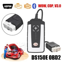 2020 new ds150e universal car truck obd obdii obd2 scanner automotive diagnostic tool bluetooth 12 languages code reader with cd