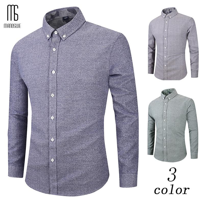 Manoswe cor sólida lavada manga longa gola quadrada camisa masculina nova 2020 primavera & outono casual camisa havaiana oversize 3xl