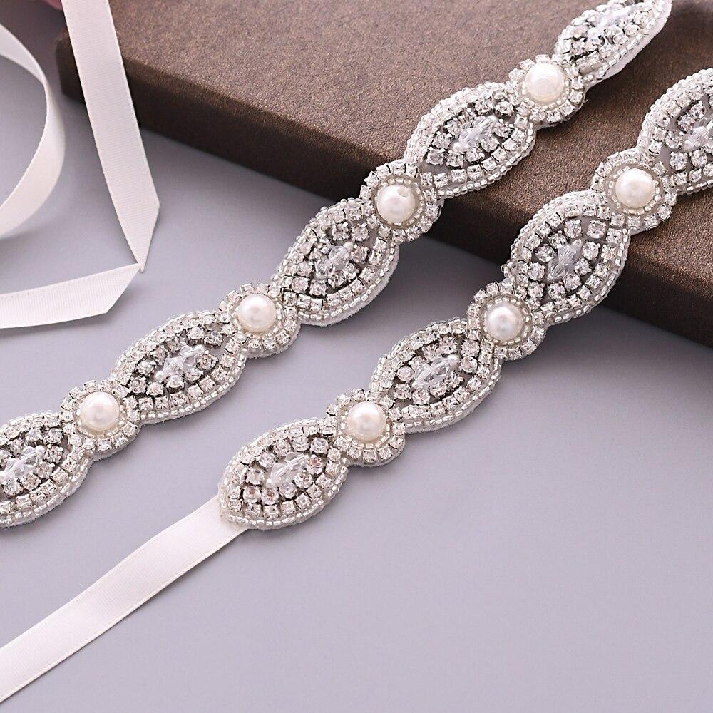 TRiXY S435, cinturón nupcial brillante con diamantes de imitación, cinturones de diseñador, cinturones para niñas, cinturones Vintage para accesorios de vestido de novia