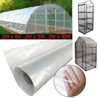 pe clear plastic greenhouse film garden plant grow greenhouse film for vegetables flowers multiple size outdoor cover film