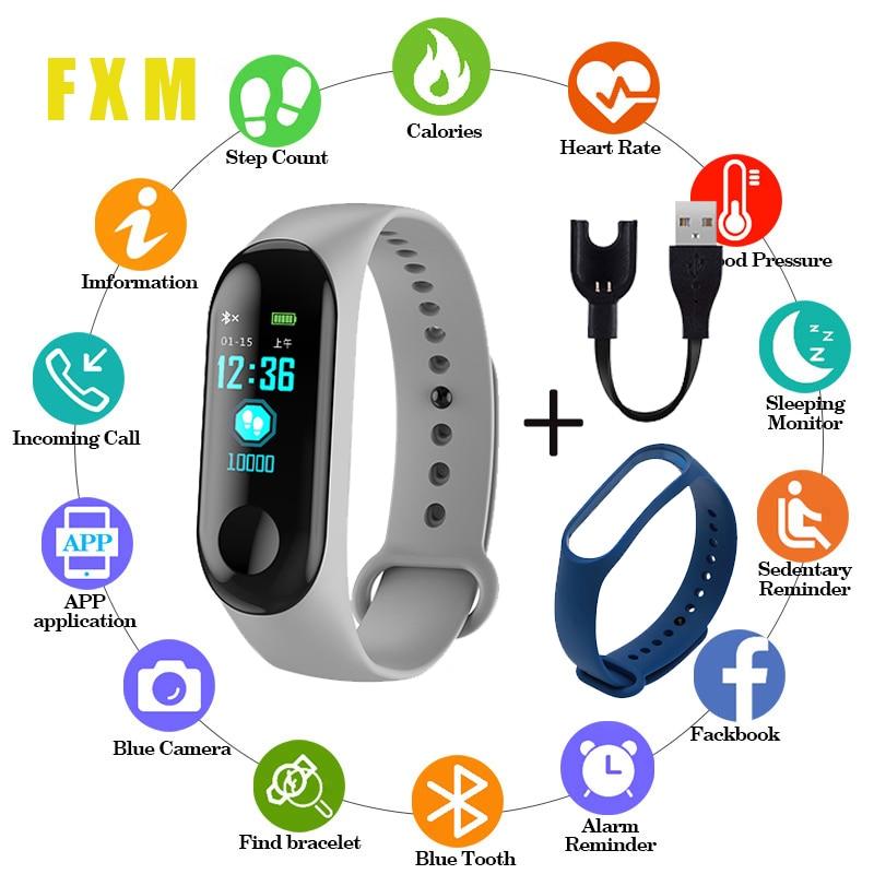 Sports Watch Blood Pressure Heart Rate Monitor Message Reminder Bluetooth Waterproof Men And Women Bracelet Children Wrist reloj