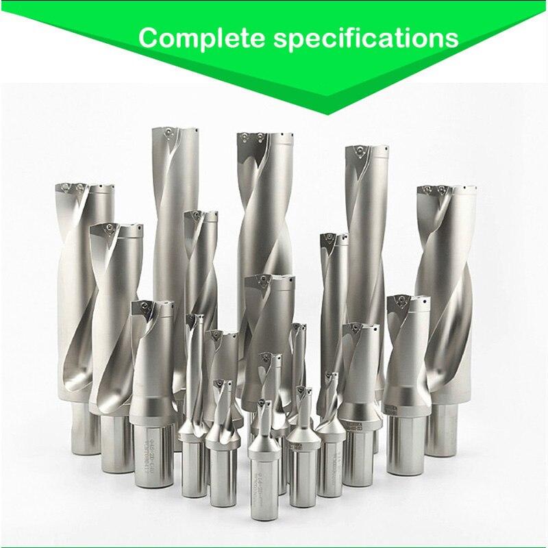 Taladro BEYOND U 30,5-35mm CNC U juego de brocas 3D SP inserto indexable para diámetro de metal 31 32,5 34 SPMG 090408 agujero de refrigeración