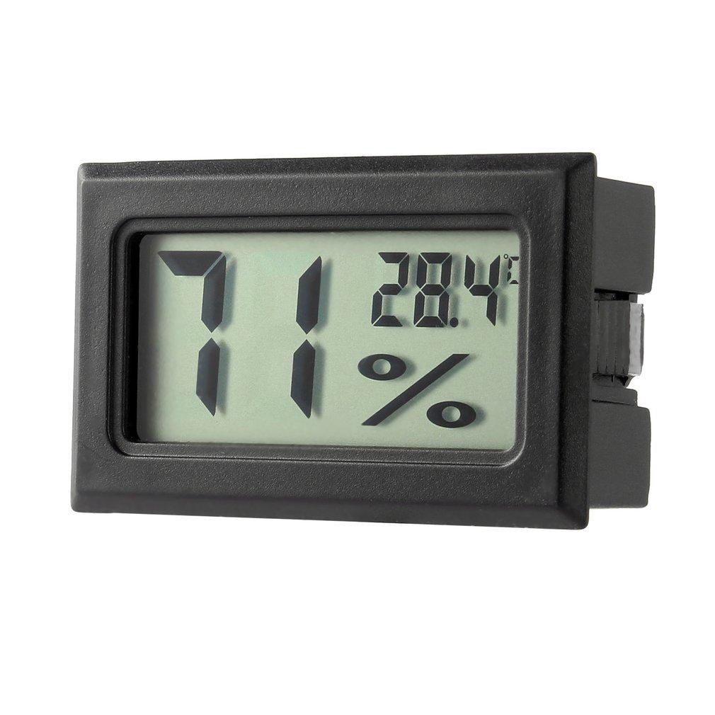 Professional Mini Digital LCD Thermometer Hygrometer Humidity Temperature Meter Indoor Digital LCD Display Sensor pet thermometer hygrometer round digital lcd display temperature humidity monitor