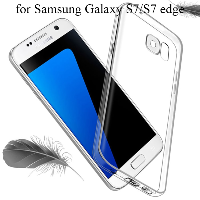Brand New for Samsung Galaxy S7 Case Silicone S7 Edge Case TPU Ultrathin Full Protective Phone Case