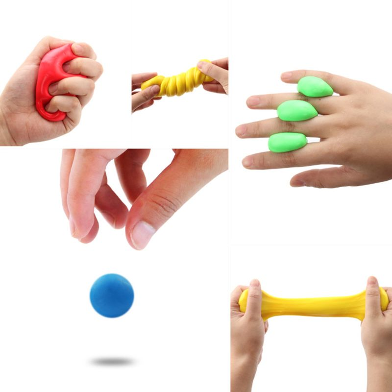Hand Putty for Hand Rehabilitation Exercise Flexible Putty for Finger Recovery and Hand Strength Training Educational Toys enlarge