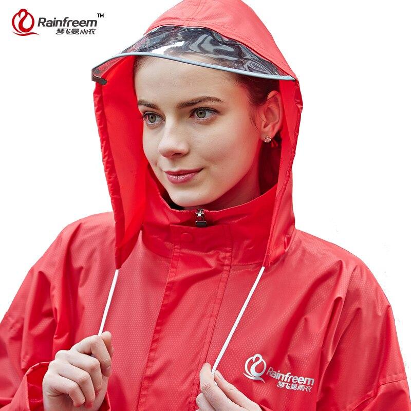 Impermeable Rainfreem, gran oferta, traje con capucha para motocicleta, Poncho, motociclismo, ropa para lluvia, S-6XL, senderismo, pesca, lluvia