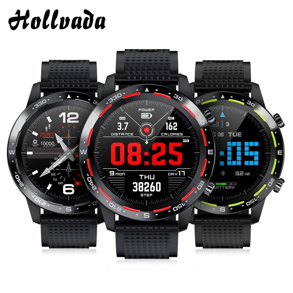 Reloj inteligente L12 para hombre, llamada Bluetooth ECG + PPG, rastreador deportivo de ritmo cardíaco, presión arterial IP68, reloj inteligente resistente al agua VS L11 L13