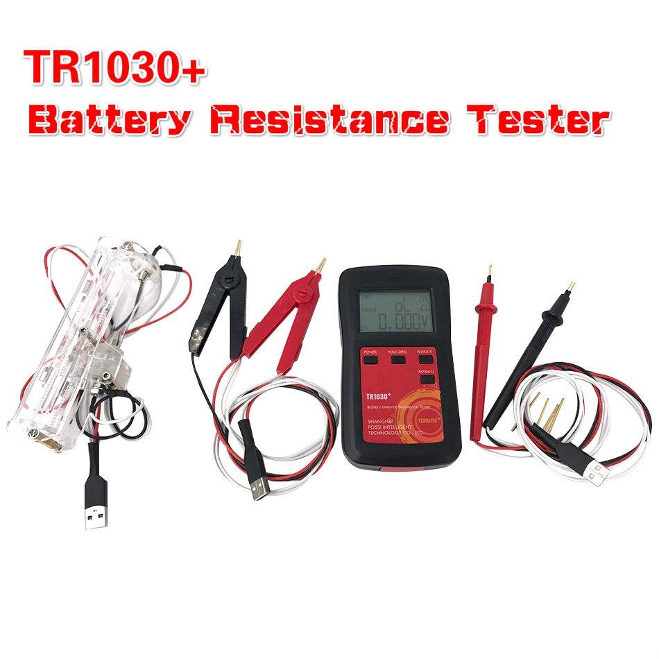 ترقية YR1030 بطارية ليثيوم اختبار المقاومة الداخلية TR1030 الرقمية لتقوم بها بنفسك 18650 النيكل هيدريد زر جهاز اختبار بطارية جافة