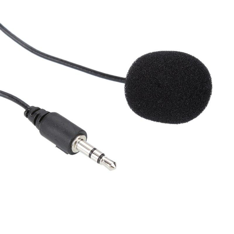 Micrófono Lavalier de 3,5mm con Clip para teléfono inteligente, micrófono para grabación...