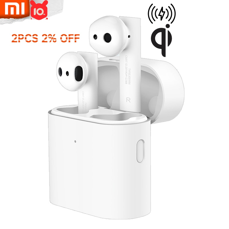 Xiaomi Air 2s-auriculares TWS, inalámbricos por Bluetooth, auriculares estéreo genuinos de carga baja con modo Lag y Larga modo de reposo 24h