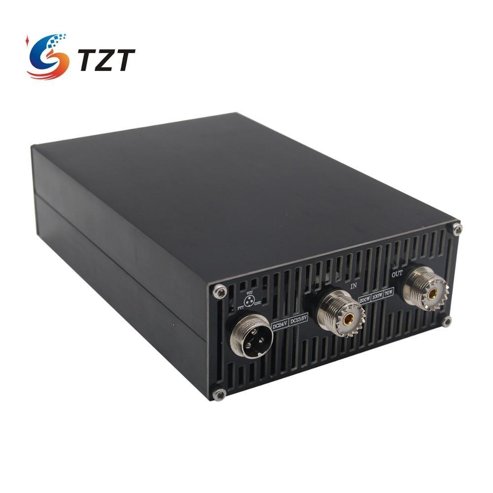 TZT MINIPA200 200 Вт усилитель мощности HF коротковолновый усилитель мощности для радиолюбителей FT-817 ICOM IC-703 eleccraft KX3 QRP PTT управление
