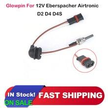 Glowpin Stecker fit für 12V-24V 88-98W Eberspacher D2 D4 D4S Luft Diesel Parkplatz heizung Draht Kabel 252069011300