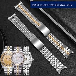 Сменный металлический ремешок, браслет из нержавеющей стали, 19 мм, серебро, золото, браслет для серии часов Prince and Princess