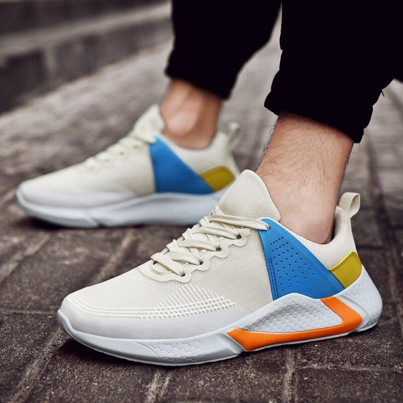 Informales de Hombre Sapato Casual Sneaker Sapatos Casuais Zapatos Homens Venda Quente Tênis Masculino Esporte Branco Moda