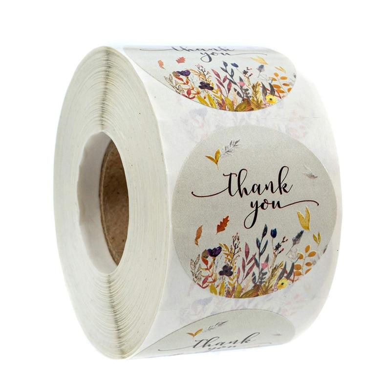 grazie-adesivi-autunno-floreale-di-tenuta-etichette-50pcs-wad-rotondo-della-decorazione-della-cancelleria-autoadesivo-etichetta-per-il-pacchetto-personalizzato