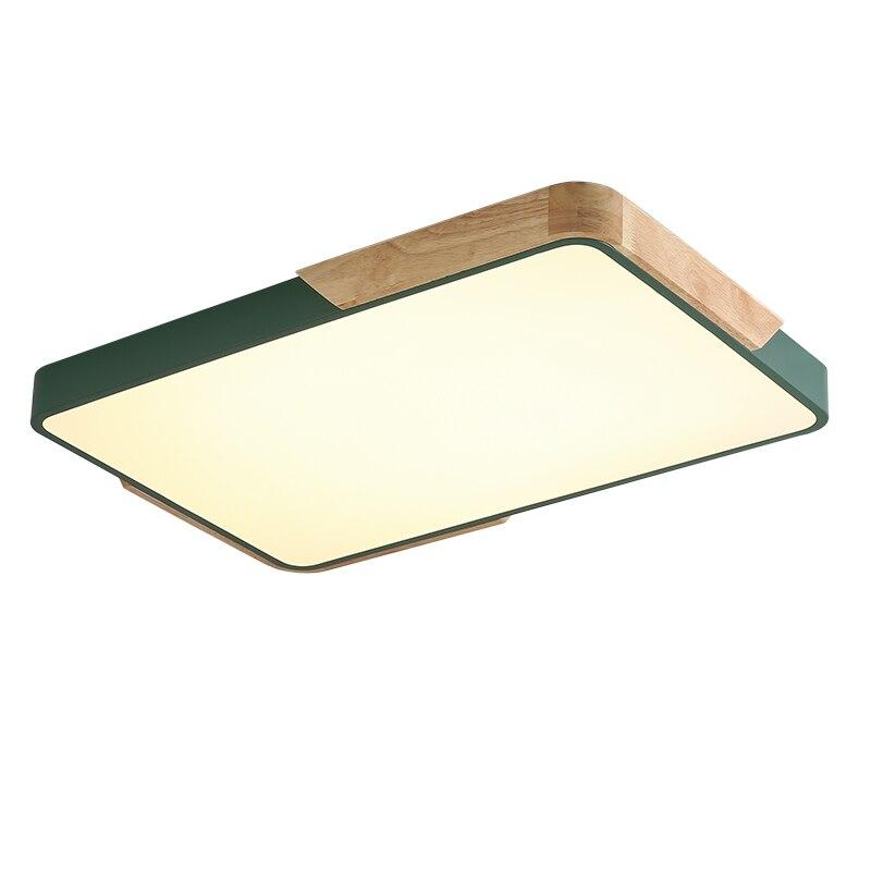 ultra fino moderno retangular quadrado levaram luzes de teto luzes de teto restaurante