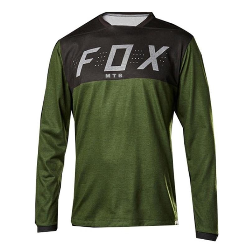 Camiseta de Ciclismo Vtt para Hombre, Maillot deportivo para Motocross, DHMtb, poliéster,...