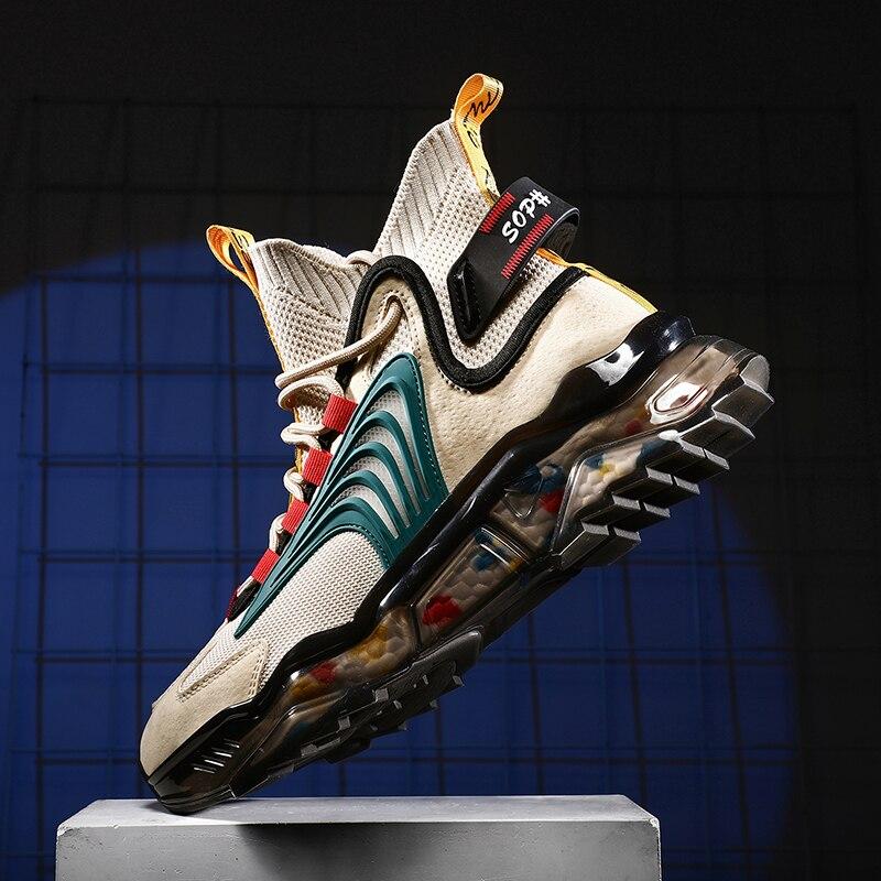 حذاء رجالي tenis الفاخرة أحذية المدرب سباق قبالة حذاء أبيض أحذية بدون كعب أنيقة احذية الجري للرجال الرجال أحذية رياضية الذكور رجالي عادية