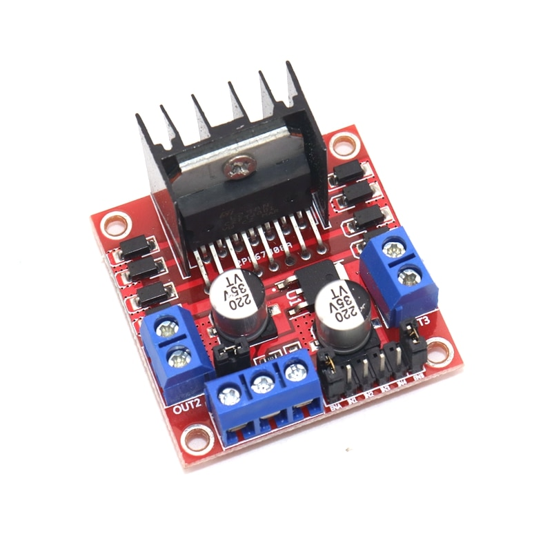 купить L298N driver board module L298 stepper motor smart car robot breadboard peltier High Power for arduino в интернет-магазине