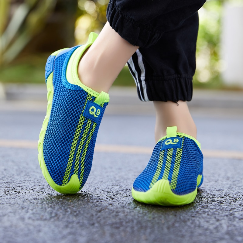 Kid Running Sport Shoes Boys Casual Mesh Shoes Sneakers Fashion Children Breathable Soft Non-slip Lightweight Shoes Kids Shoes