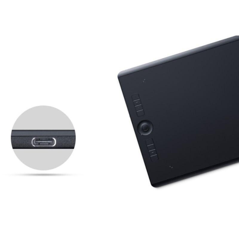 Cable de alimentación USB tipo C para tableta de dibujo Digital Wacom,...