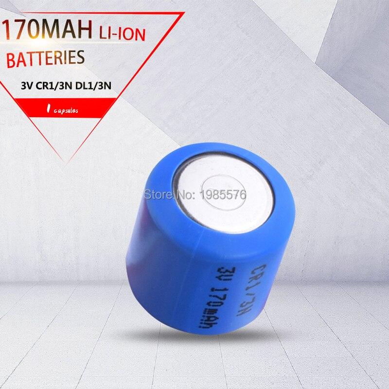 1 Pçs/lote CR1/3N 2L76 CR11180 DL1/3N 5008LC K58L 3V para Câmera Localizador Célula de Lítio Botão Baterias de Iões de lítio