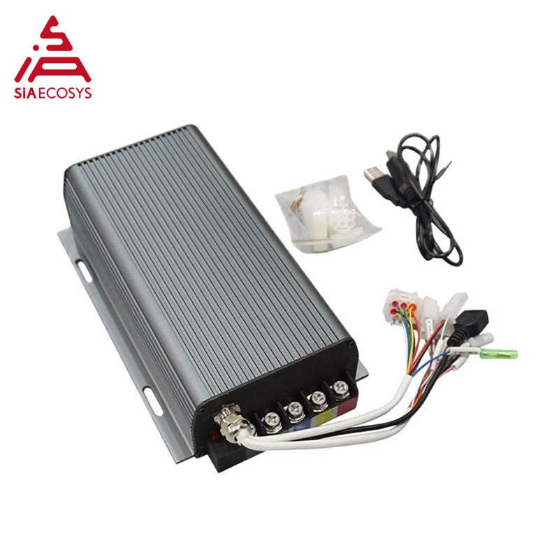 QS Motor 12inch 260 5000W 45H V4 Advanced/Racing Electric Motorcycle Conversion Kit enlarge