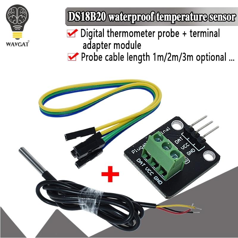 Комплект модуля датчика температуры DS